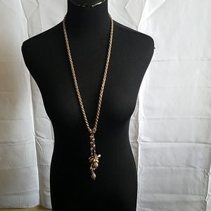 Gold chain necklace( nwot)